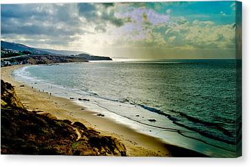 Canvas Print featuring the photograph Crystal Cove Beach by Joseph Hollingsworth
