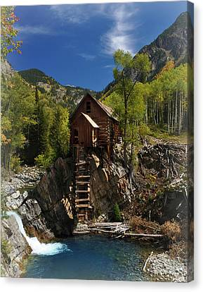 Crystal Mill 2 Canvas Print by Marty Koch