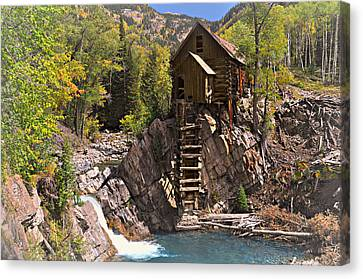 Crystal Mill 3 Canvas Print by Marty Koch