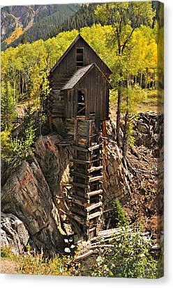 Crystal Mill 6 Canvas Print by Marty Koch