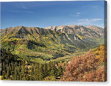 Crystal Valley Canvas Print by Marty Koch