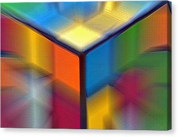 Cubed 1 Canvas Print by Steve Ohlsen