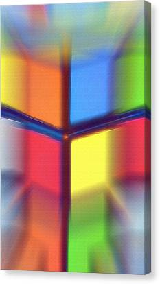 Cubed 2 Canvas Print by Steve Ohlsen