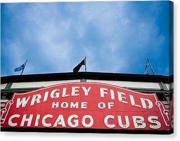 Cubs Sign Canvas Print