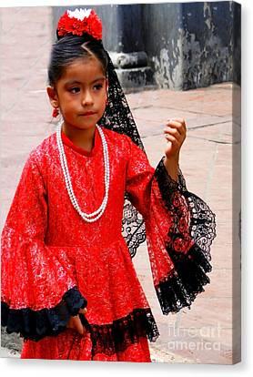Cuenca Kids 209 Canvas Print by Al Bourassa