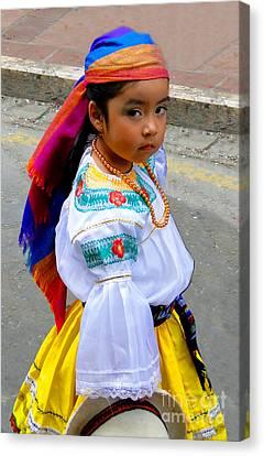Cuenca Kids 210 Canvas Print