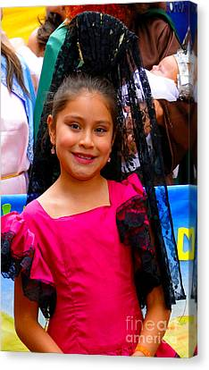 Cuenca Kids 213 Canvas Print by Al Bourassa