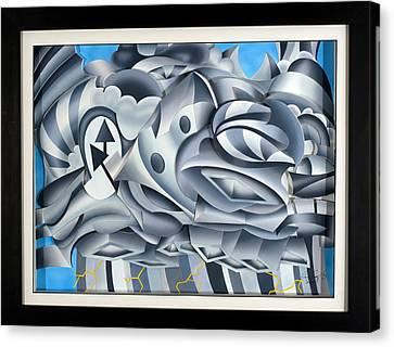 Cumulonimbus Canvas Print by Jason Amatangelo