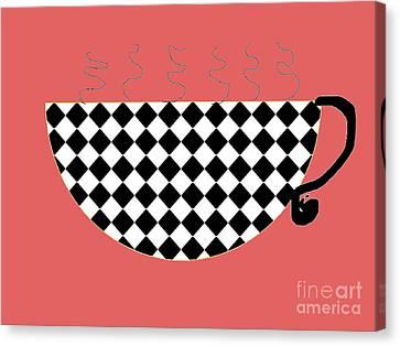 Cup O Joe Canvas Print by Jeannie Atwater Jordan Allen