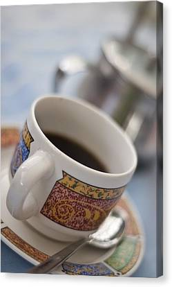 Cup Of Coffee Canvas Print by David DuChemin