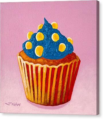 Cupcake  Canvas Print by John  Nolan