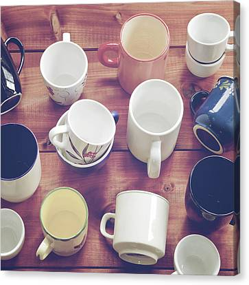 Cups Canvas Print by Joana Kruse