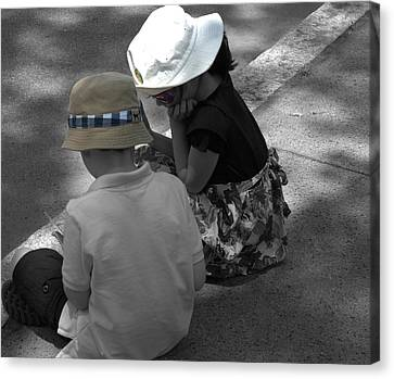 Curbside Youth Canvas Print