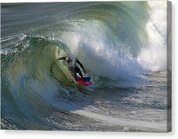 Curled Canvas Print by Joe Schofield