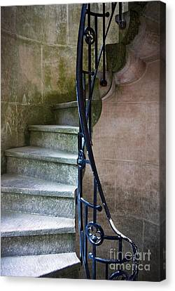 Curly Stairway Canvas Print by Carlos Caetano