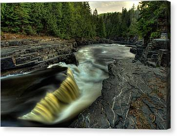 Current River Falls Canvas Print by Jakub Sisak
