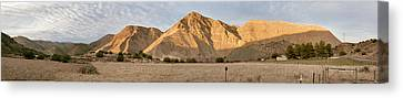 Curry Mountain Panorama Canvas Print by Larry Darnell