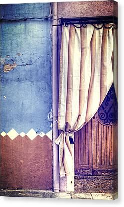 Curtain Canvas Print by Joana Kruse