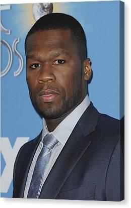 Curtis Jackson, Aka 50 Cent Canvas Print