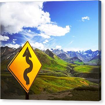 Curves Ahead Canvas Print by Ulrich Mueller