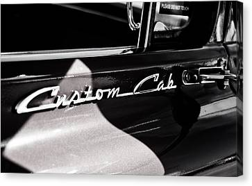 Canvas Print featuring the photograph Custom Cab Ford by Randall  Cogle