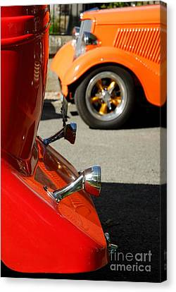 Custom Ford Motor Cars Abstract Canvas Print by John Kelly