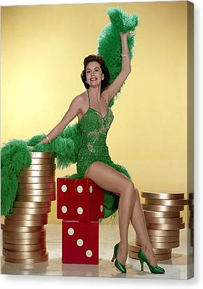 Cyd Canvas Print - Cyd Charisse by Everett