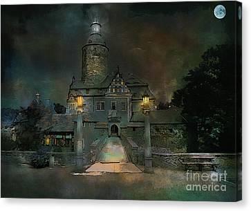 Czocha Castle  Canvas Print by Andrzej Szczerski