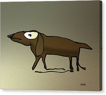 Dachshund Canvas Print by Daniel Meola