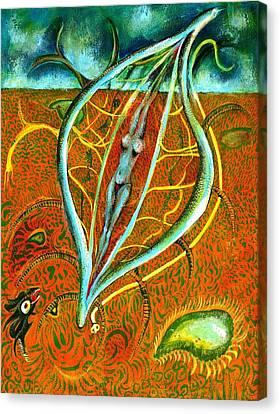 Dacian Dreamcatcher Canvas Print by Ion vincent DAnu