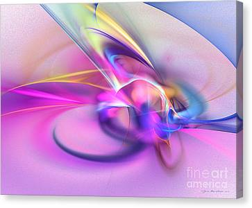 Daddys Girl - Abstract Art Canvas Print by Abstract art prints by Sipo
