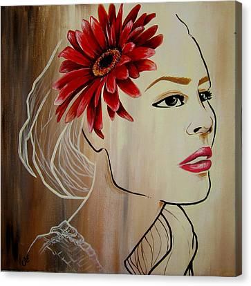 Daisy Canvas Print by Stacy Craig