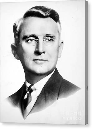 Dale Carnegie (1888-1955) Canvas Print by Granger