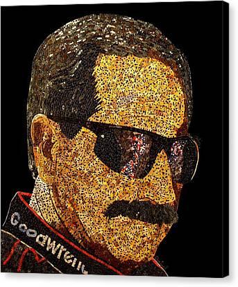 Dale Earnhardt Tribute Canvas Print