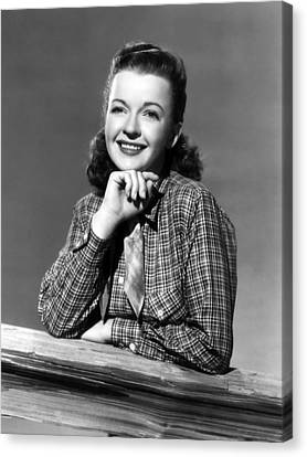 Dale Evans 1912-2001, American Actress Canvas Print by Everett