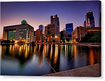 Dallas City Hall Plaza Canvas Print