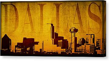 Dallas Canvas Print by Ricky Barnard