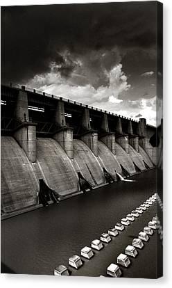 Dam-it Canvas Print