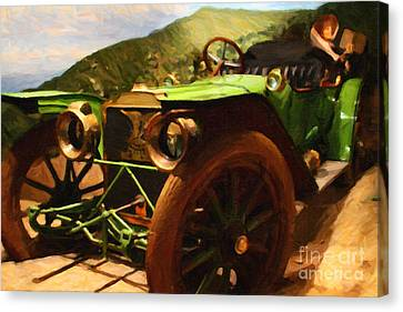 Damsel In Distress - 7d17504 Canvas Print by Wingsdomain Art and Photography