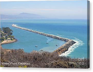 Clayton Canvas Print - Dana Point California 9-1-12 by Clayton Bruster
