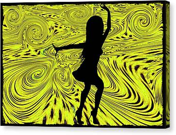 Dance Canvas Print by Bill Cannon