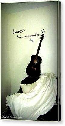 Dance Like No One Is Watching  Canvas Print by Danielle  Parent