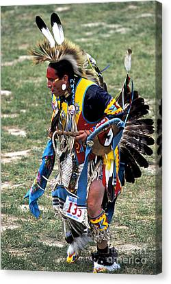 Crazy Horse Canvas Print - Dancer 135 by Chris Brewington Photography LLC