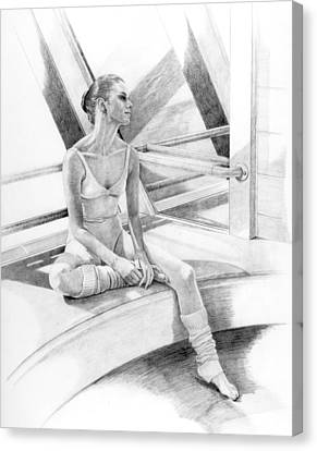 Dancer At Rest Canvas Print by Phyllis Tarlow