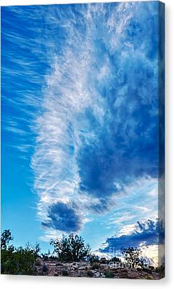 Dancing Light And Clouds 2 Canvas Print by Scotts Scapes
