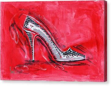 Dancing Queen Canvas Print by Richard De Wolfe