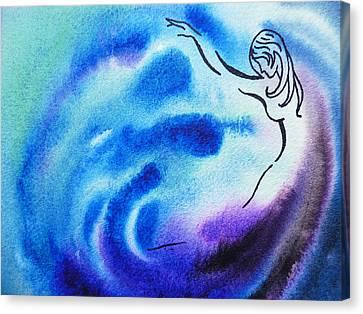 Dancing Water I Canvas Print