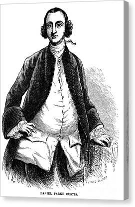Daniel Parke Custis Canvas Print by Granger