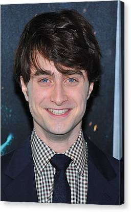 Daniel Radcliffe At Arrivals For Harry Canvas Print by Everett
