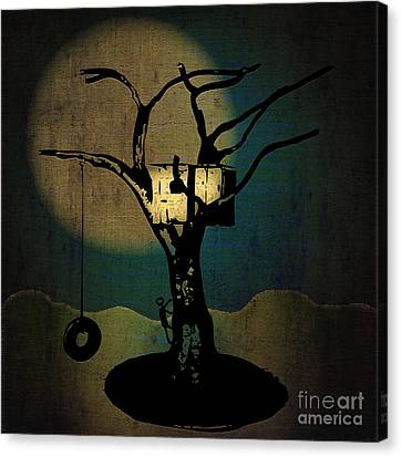Dans Tree House Canvas Print
